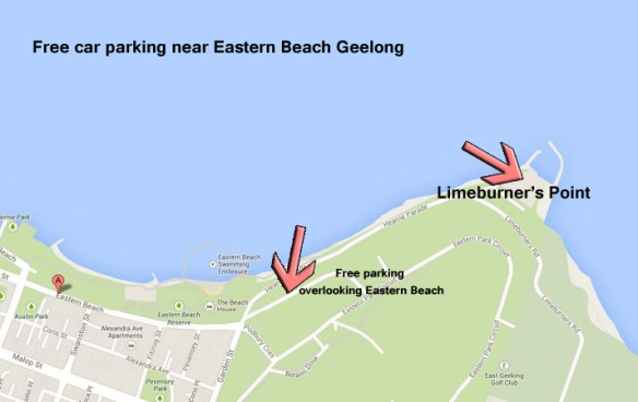 car parks near eastern beach