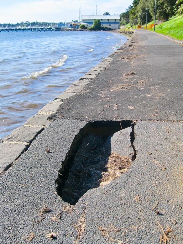 Western beach pothole web